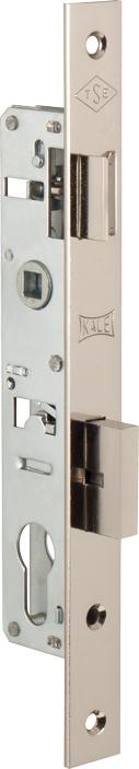 Корпус замка врезного цилиндрового узкопроф.153 (20 mm) w/b (никель)
