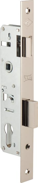 Корпус замка врезного цилиндрового узкопроф.153 (30 mm) w/b (никель)