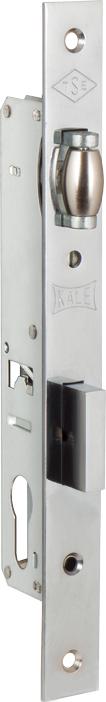 Корпус замка врезного цилиндрового узкопроф.155 (20 mm) w/b (никель)