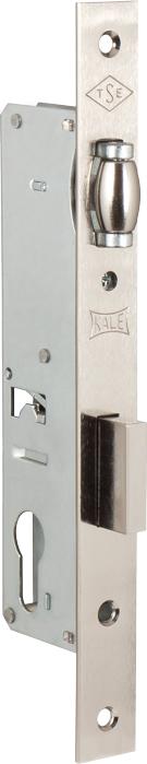 Корпус замка врезного цилиндрового узкопроф.155 (30 mm) w/b (никель)