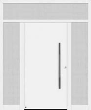 Двери Hormann Thermo65 010 с боковым и верхним остеклением