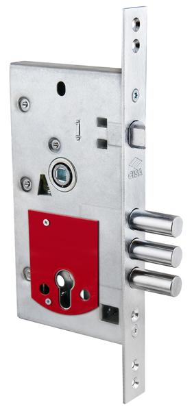 Замена нижнего замка металлической двери