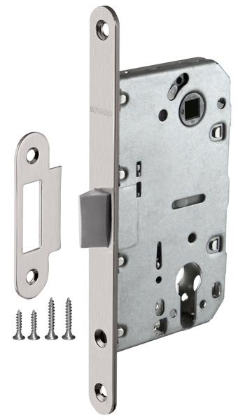 Корпус замка PLASTIC P85C-50 SN мат. никель
